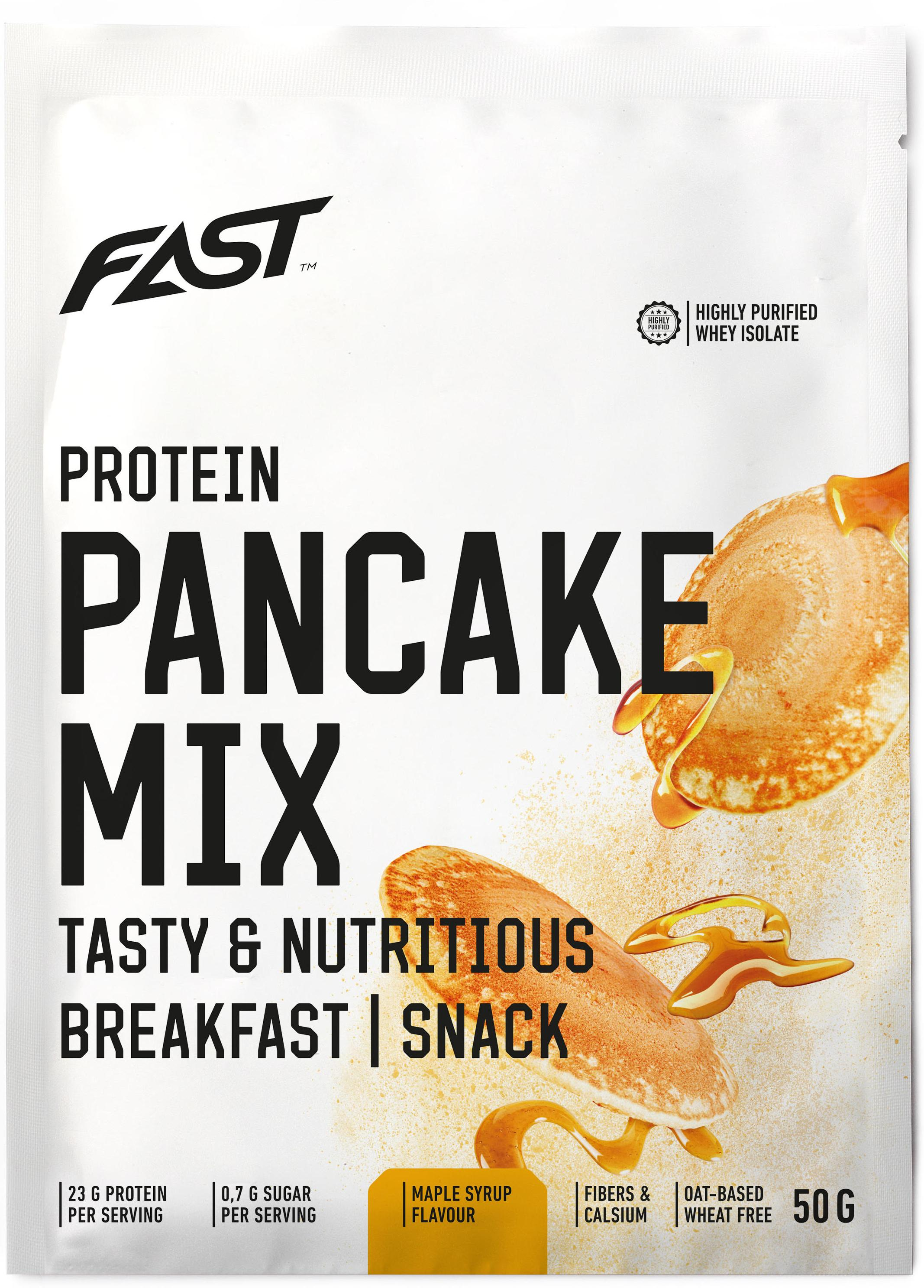 Pulver FAST Protein Pancake Mix 50 g maple syrup