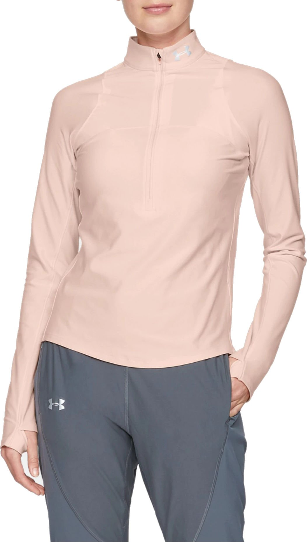 Langarm-T-Shirt Under Armour UA Qualifier Half Zip