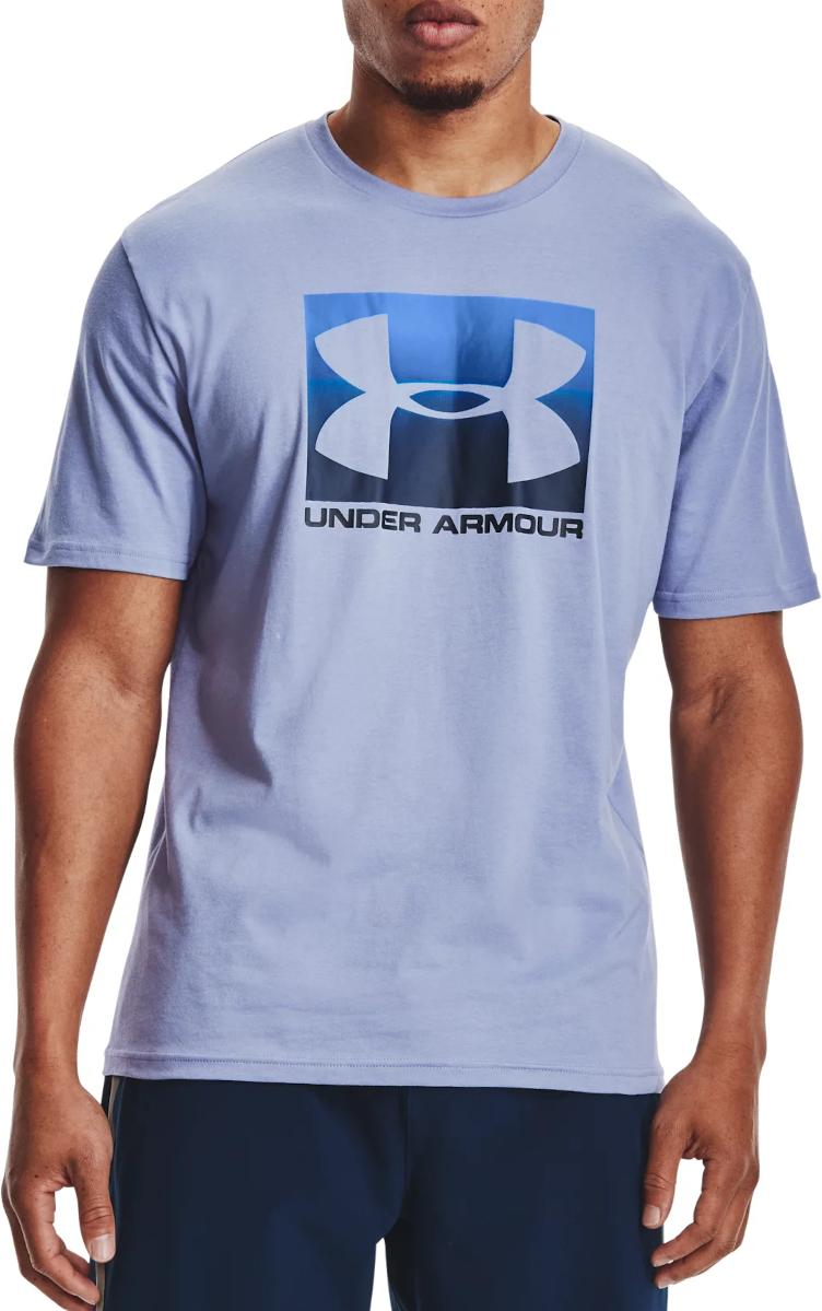 T-Shirt Under Armour UA BOXED SPORTSTYLE SS-BLU