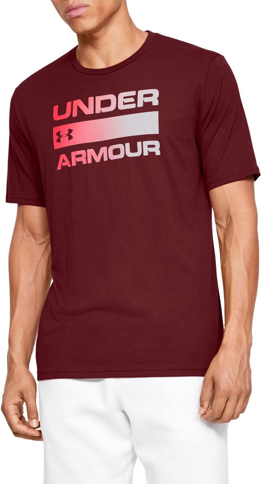 T-Shirt Under Armour UA TEAM ISSUE WORDMARK SS