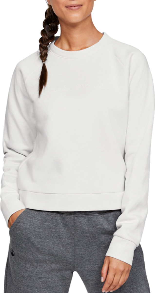 Sweatshirt Under Armour RECOVERY FLEECE SCRIPT CREW
