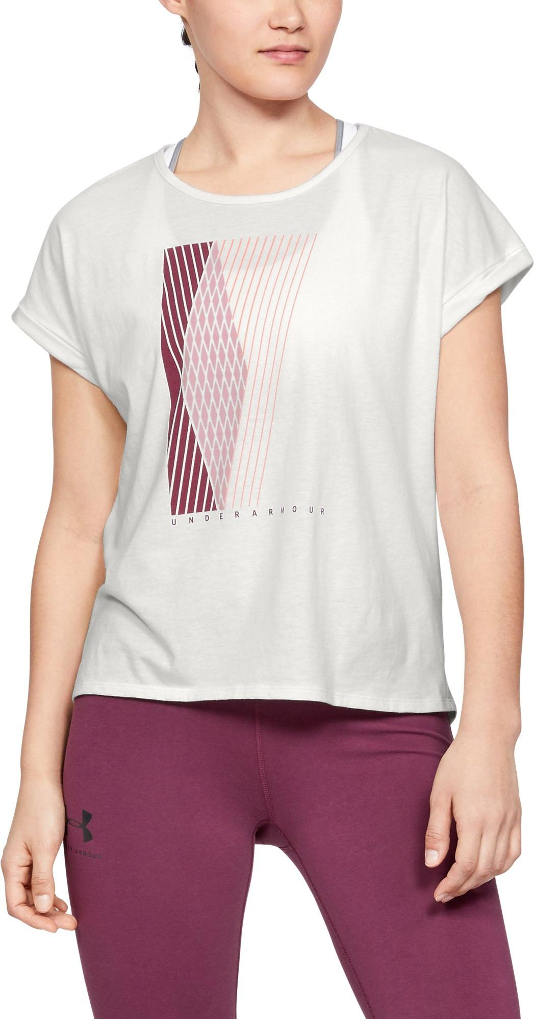 T-Shirt Under Armour GRAPHIC ENTWINED FASHION SSC