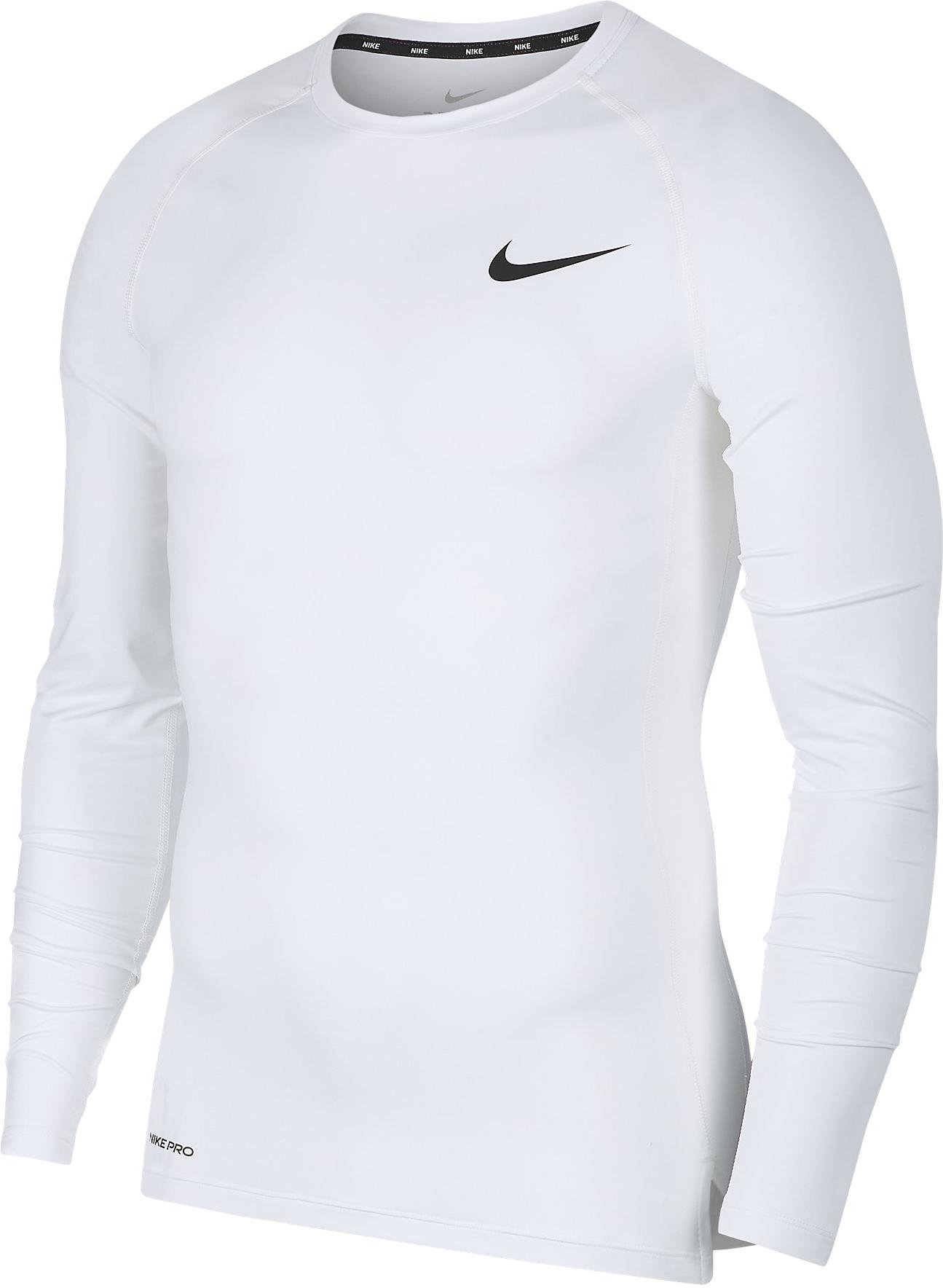 Kompressions-T-Shirt Nike M NP TOP LS TIGHT